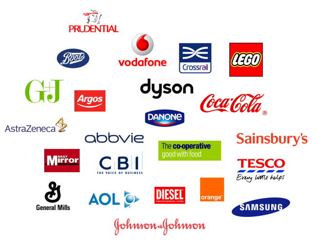 HG client logos